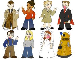 Doctor Who Character Sheet by Gallifery