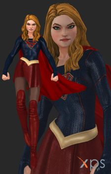 DCUO Supergirl (CW) by thePWA