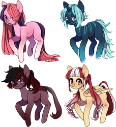 [CLOSED] Ponies OTA by Fireflys-Adopts