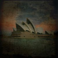 opera house sunset by CatchMe-22
