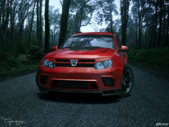 Dacia Duster Tuning 25 by cipriany