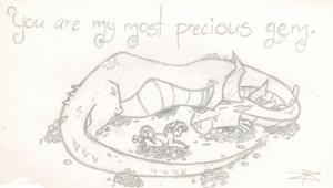 You Are My Most Precious Gem by wolfgrl22