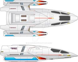 Type X7 Shuttle Concept by Galen82