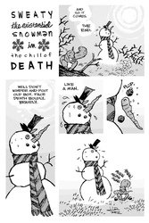 SWEATY THE EXISTENTIAL SNOWMAN by JasonLatour