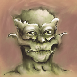 Green monster master by Mortiegane