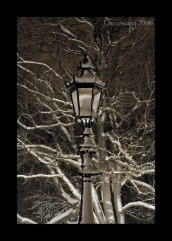 The Lamp Post by DreamSand