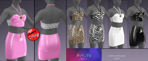 (3D) Avilife WIP Outfit 5 by CherrysDesigns