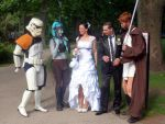Star Wars group and Newlyweds 3 by V-kony