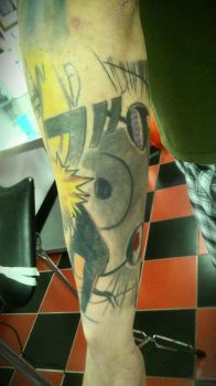 Naturo Sleeve Part 4 by deathtattoo83