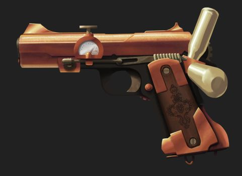 Colt .45 Reimagined by Xavisavvy