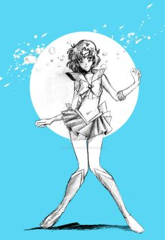 Sailor Mercury by Orestes-Sobek
