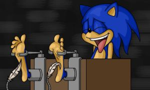 Sonic Tickled by Lord-Reckless