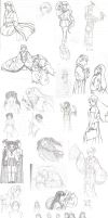 SP '08 sketchdump by Hanyou-no-miko