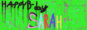 For Sarah Warah by paulover