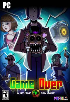 Game Over: A GTLive Fan Game Cover by miitoons