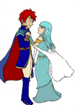 Eliwood and Ninian by DancingDanny