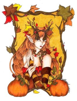 Autumn Queen by OmegaDevin
