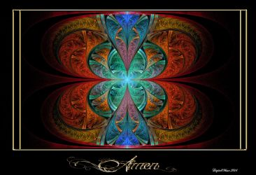 Stained Glass Elliptic by digitalmuse66