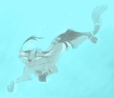 Swimmin by Finchwing