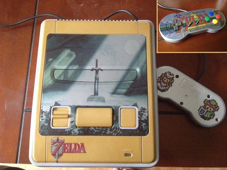 Gold and Silver Zelda LTTP snes by Hananas-nl