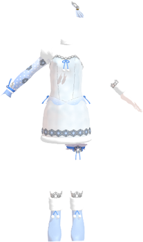 MMD Ice Outfit Download by 9844