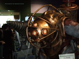 BioShock Big Daddy Close-up. by GermanCityGirl