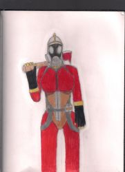 Female Pyro (request from friend) by Samtaynov