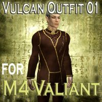 Vulcan Outfit for M4 Valiant01 by mylochka