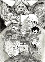 Adventure time, with Fionna and Cake! by ImRocker