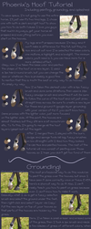 Hoof Tutorial by PhoenixAureus