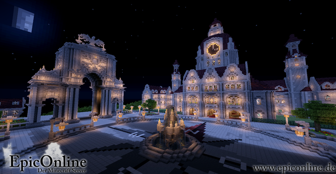 Capital Main Square Nightview by EpicOnline