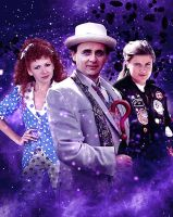 The Seventh Doctor and Friends by Hisi79