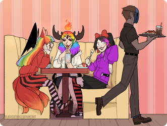 There's always that one annoying table. by BlackCat5643