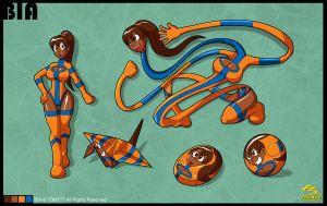 Bia official model sheet by rodriguis