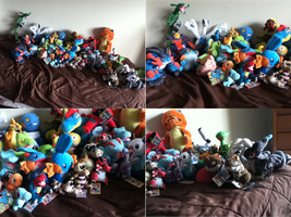 ALL MY POKEMON PLUSHIES UPDATE #6 by PokeLoveroftheWorld
