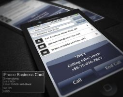 IPhone Business Card by CaCaDoo