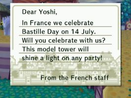 Bastille Day Letter by theyoshifanboy