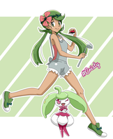 Mao and Amamaiko ( Mallow / Lulu and Steenee )