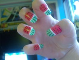 Watermelons by KayleighOC
