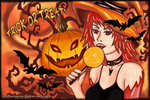 Trick or Treat! by ladylucienne