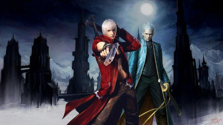 Devil may cry - Brothers by Axel-Vampire