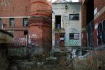 Untitled corner, old AMCOR papermill by thespook
