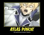 .:Atlas PUNCH!:. by YuGiOh4Ever