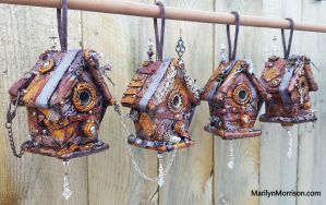 Little Steampunk Houses by MarilynMorrison