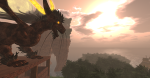 The Dragon King's Dusk by ZauberParacelsus