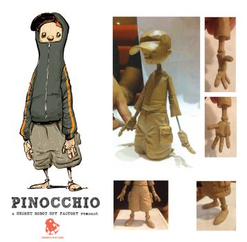 Pinocchio Figurine by sonny123