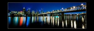 Pano of Portland by niel4
