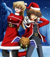 .: Commission : Christmas GX :. by Sincity2100