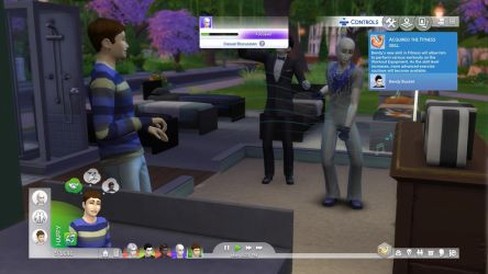 The Sims 4| BATCF-  Dance party!! by Nightmarecake4268