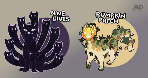 Spoopy Cat Adopts yes more [CLOSED] by AkaPanuka